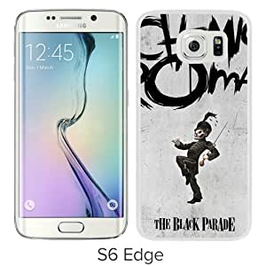 Fashionable And Unique Designed Case For Samsung Galaxy S6 Edge Phone Case With My Chemical Romance White