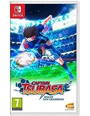 Captain TSUBASA Rise of New Champions Nsw + Esclusiva sciarpa (Esclusiva Amazon) - Bundle Limited - Nintendo Switch