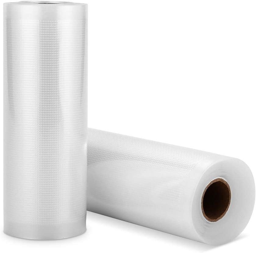 2 Rouleaux 15x500cm SAMEBOO Sacs Sous Vide Alimentaire pour Machine Sous Vide Sacs /à Faire le Vide dair Sans BPA Approuv/é par la FDA Accessoires pour Machine Sous Vide Alimentaire