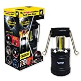 Atomic Beam Tactical Lantern by BulbHead, Bright 360-Degree LED Panels, 3 Hanging Methods (1 Pack) (1 Pack)