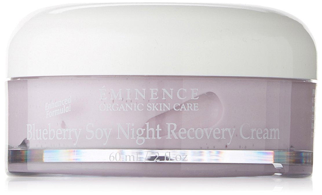 Eminence Organic Skincare. Blueberry Soy Night Recovery Cream