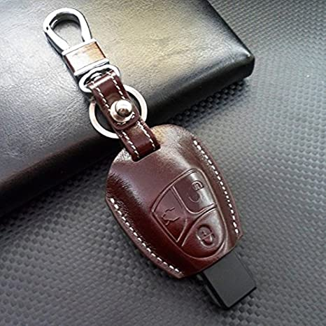 Rockxia Car Genuine Leather Key Protective Case Key Cover For Mercedes Benz  C200 E320 350 G S