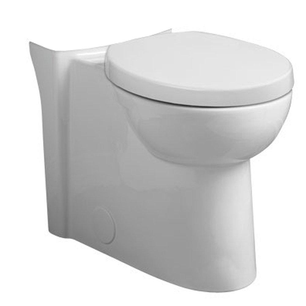 American Standard 3075.120.020 Studio Right-Height Elongated Toilet Bowl, White