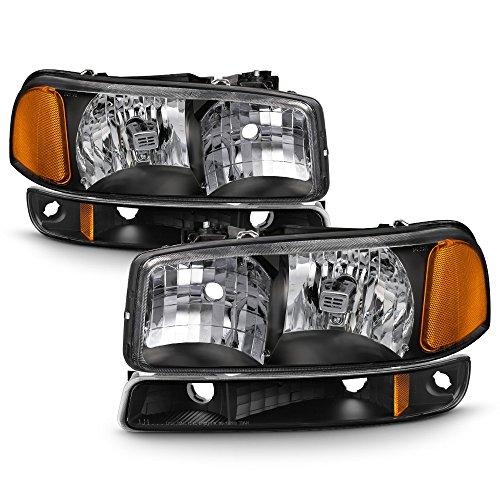 02 gmc sierra headlight assembly - 6