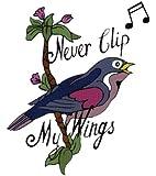 Never Clip: (Full Size) Temporaray Tattoo