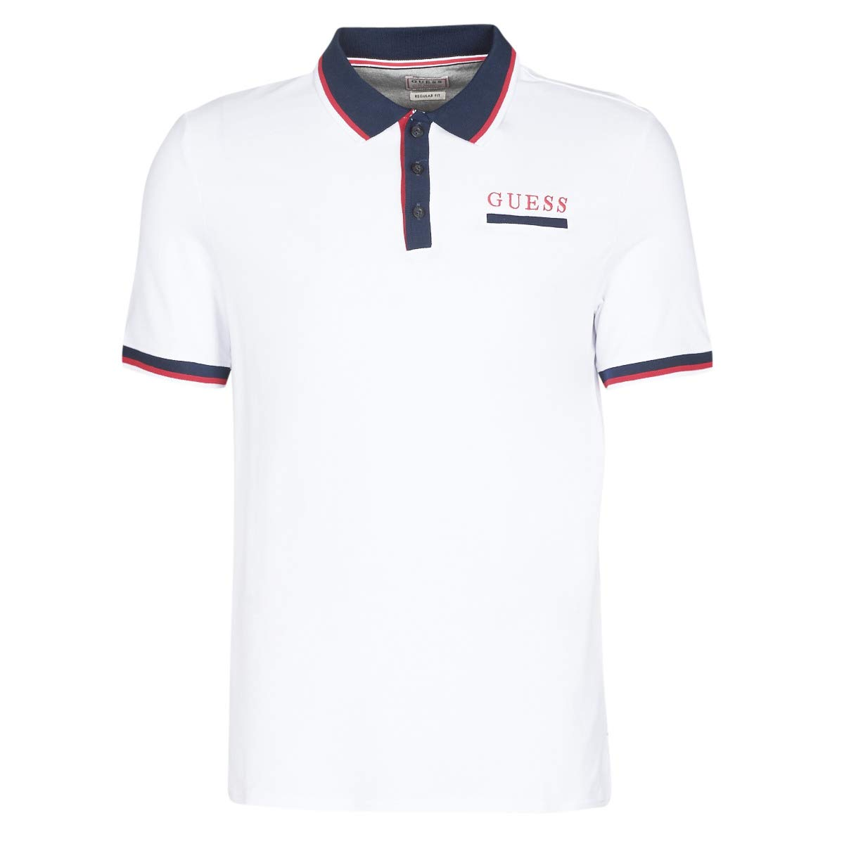 GUESS Les SS Polo Tops y Camisetas Hommes Blanco - XS - Polos ...