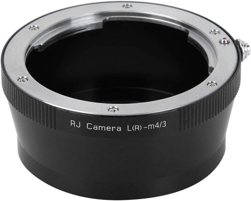 Serounder LR-M4//3 Lens Adapter Ring Manual Focus Lens Converters for Leica LR Lens to for Olympus M4//3 Mount Mirrorless Camera
