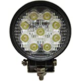 27W Round LED Work Light Lamp Off Road High Power ATV Jeep 4x4 Tractor 30 Degree Spot Light