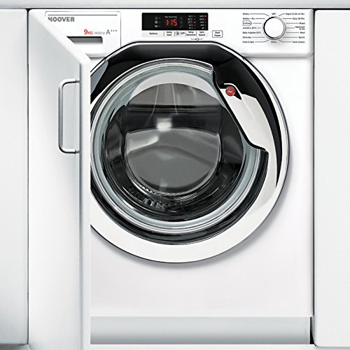 HBWM914SC Integrated Washing Machine with 1400RPM Spin Speed and 9KG...