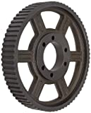 Martin 96H200 E T H-3 Style, 1/2'' Pitch, Heavy, 2'' Wide Belts, E QD Bushing Timing Pulley QD