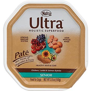 Nutro Ultra Chicken, Lamb and Salmon Senior Canned Dog Food
