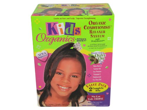 (Africa's Best Kids Organic Relaxer Coarse Value Pack)