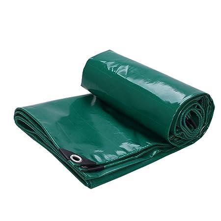 HPLL Lona Green Thicken Tarpaulin, Cubierta Impermeable De Lona ...