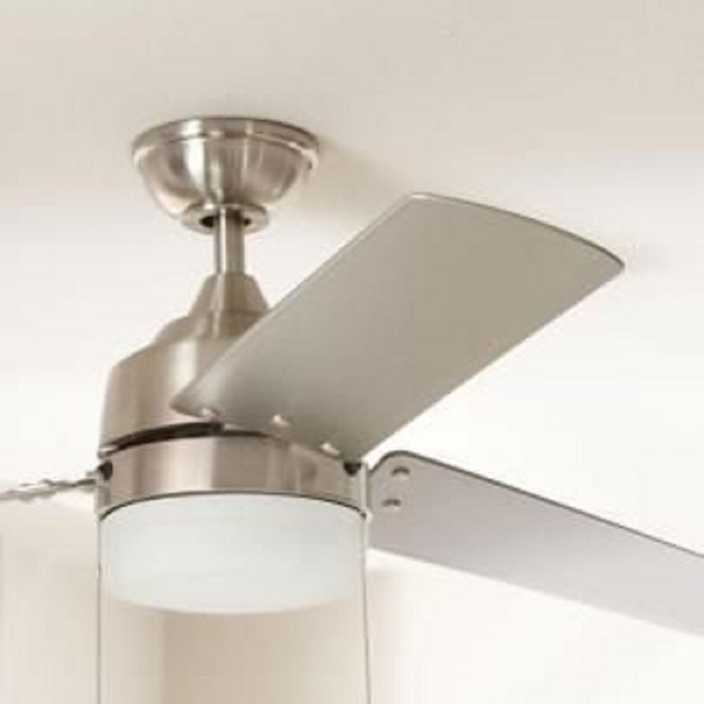 hampton bay carrington 3bladed 60inch ceiling fan brushed nickel amazoncom