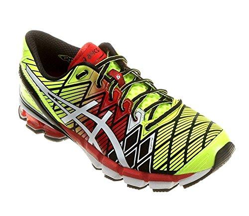 asics-mens-gel-kinsei-5-running-shoes-black-white-red-115-m-us