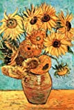 Vincent Van Gogh Vase with Twelve Sunflowers Art Print Poster Poster Poster Print, 24x36