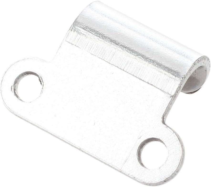 CUHAWUDBA Schrank 6,1 cm Laenge Metall Draw Spring Hardware Silber