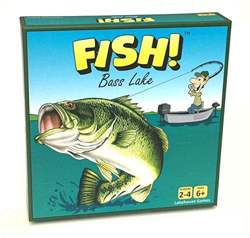 Fish! Bass Lake - Fishing Board Game - First Edition (2018) ()