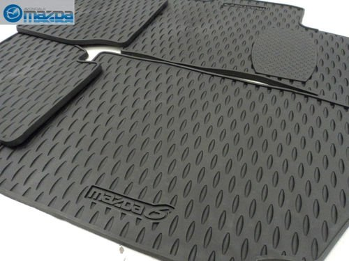 MAZDA 6 2003-2008 NEW OEM SET OF FOUR ALL WEATHER FLOOR MATS 0000-89-H36 by Mazda (Image #2)