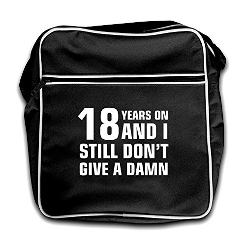 And Black Years Bag Retro Don't I Damn Still Give 18 On A Flight Black ERqwnB