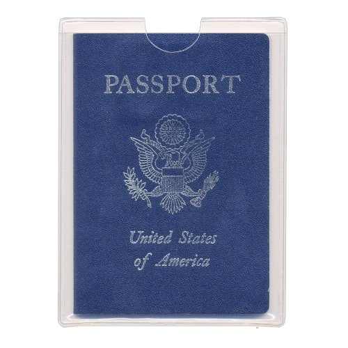 StoreSMART - Passport Plastic Slip Case - 100-Pack - PSC471S-100 by STORE SMART