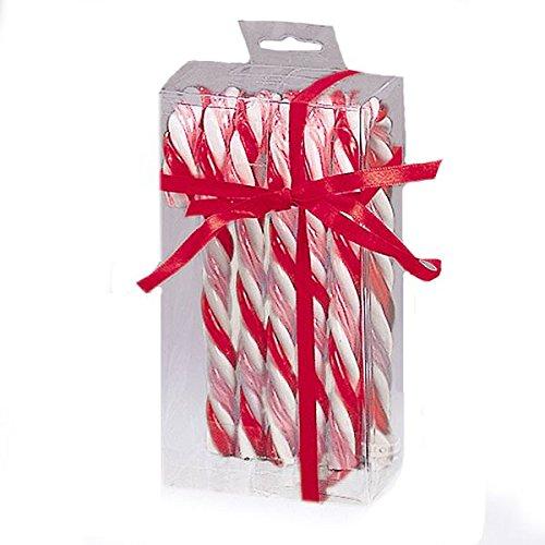 Kurt Adler Red White and Pink Candycane Ornament Set - Candy Cane Set