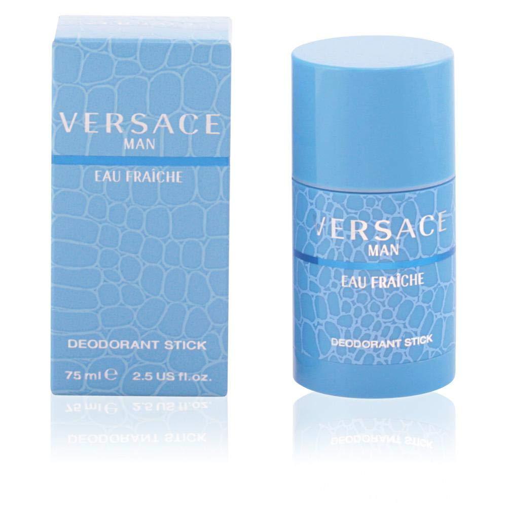 dc8179e0089 Amazon.com : Versace Man Eau Fraiche by Versace, 2.5 oz Deodorant Stick for  men : Colognes : Beauty