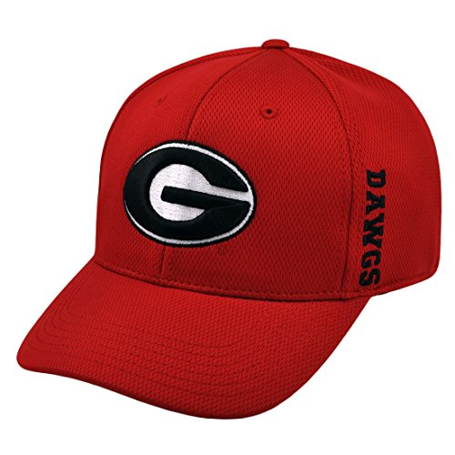 Georgia Bulldogs Official NCAA One Size Adjustable Embroidered Hat Cap by Top of the World ()