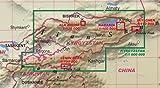 Tian Shan (Kyrgyzstan) 1:100 000 Trekking Map, laminated, GPS-compatible