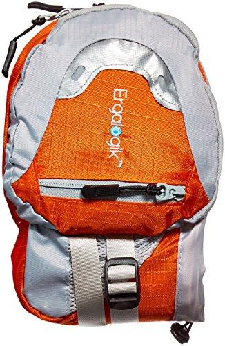 1d23d54ec ErgaLogik Day Trekker – Hiking Waist Pack with Water Bottle (Not Included)  Holder -