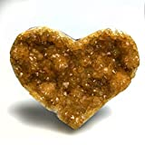 Citrine Cluster Heart from Uruguay - 1.8 LBS - Style 2