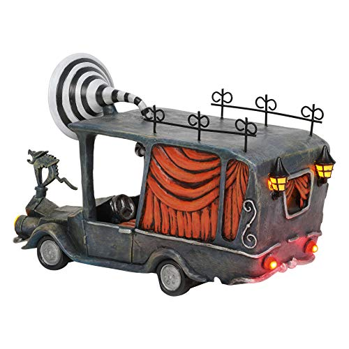 Department 56 Disney The Nightmare Before Christmas Village The Mayor's Car Lit Figurine, 5.04 Inch, Multicolor
