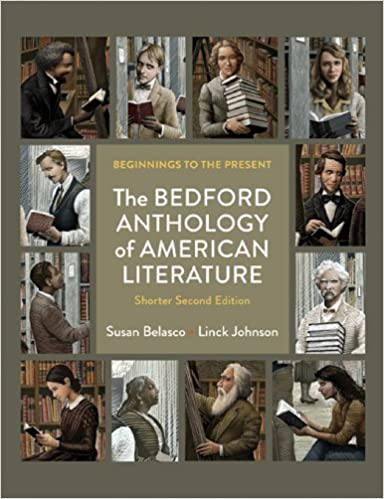 Amazon com: The Bedford Anthology of American Literature, Shorter