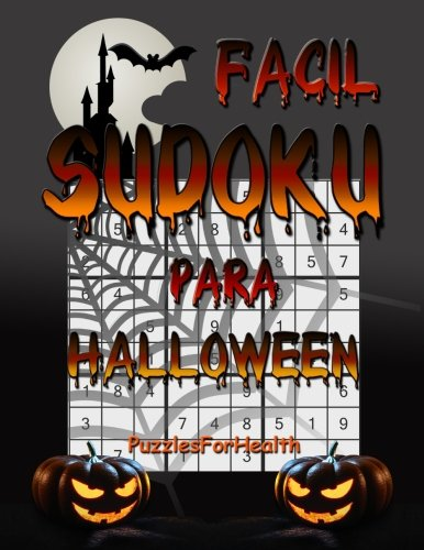Sudoku para Halloween (Facil) (Spanish Edition)