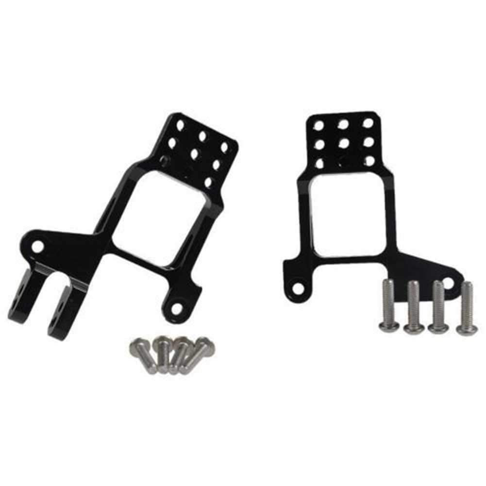Studyset 1//10 RC Aluminum Front//Rear Shock Absorber Support Bracket for TRAXXAS TRX-4 Multi-Hole Adjustable Metal Shock Proof Model Car Accessories