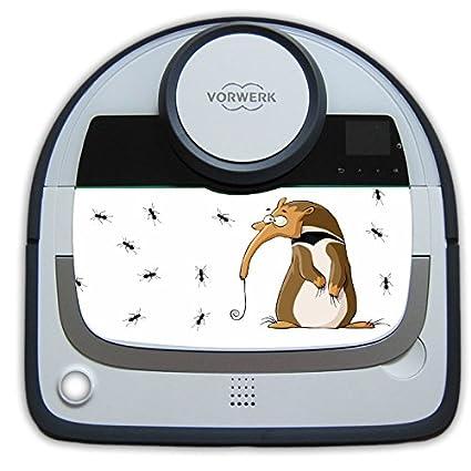 Vorwerk VR200 vacío robótico pegatina oso hormiguero