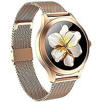 Smartwatch para Mujer MyTECH K1 Pro Reloj Inteligente para Mujer, Elegante Smart Watch Oxímetro, frecuencia Cardiaca…
