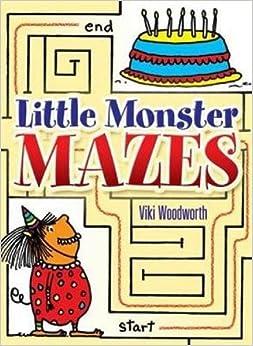 Book Little Monster Mazes (Dover Little Activity Books)