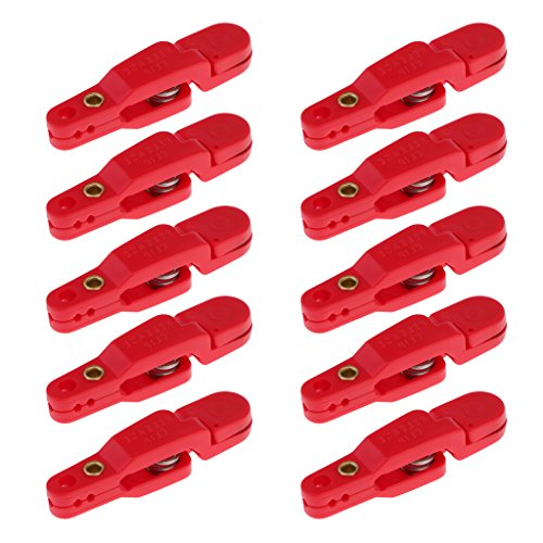 MagiDeal 4~10pcs Snap Offshore Release Clips Planer Board Outrigger Downrigger Clips - 10Pcs (Best Planer Board Releases)