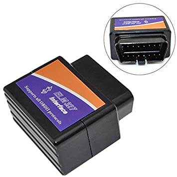 ELM327 Bluetooth OBD2 V1.5 coche interfaz de diagnóstico: Amazon.es: Electrónica