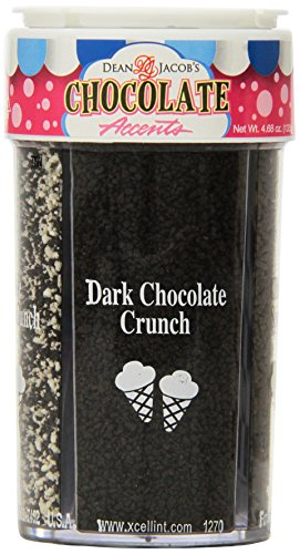 Dean Jacob's 4-in-1 Chocolate Ice Cream Accents, 4.68 Ounce (Pack of 3)
