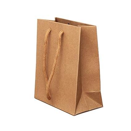 Bling Online, 5 unidades, pequeñas, papel Natural regalo de ...