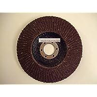 Olbrich-Industriebedarf Waaierschijven 125 mm staal, metaal, hout korrel 40-10 stuks