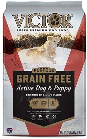 Dog Food: VICTOR Grain Free