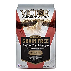VICTOR Purpose – Grain Free Active Dog & Puppy, Dry Dog Food