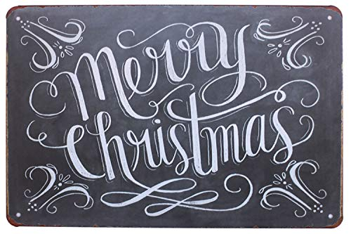 Merry Sign - Sumik Merry Christmas, Metal Tin Sign,