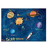 Oopsy Daisy The Solar System Stretched Art, 32 x 42''