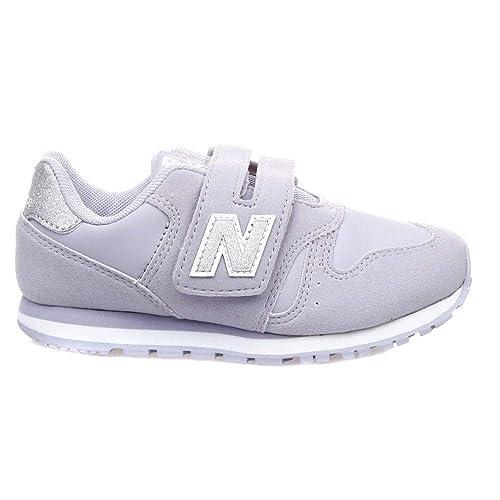 859cada135979 New Balance Girls 373 Velcro Sneakers - Lilac 10 Infant: Amazon.co ...