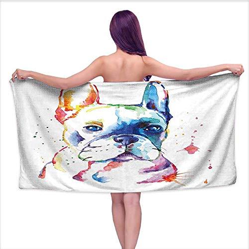 french bulldog kitchen towel - 7