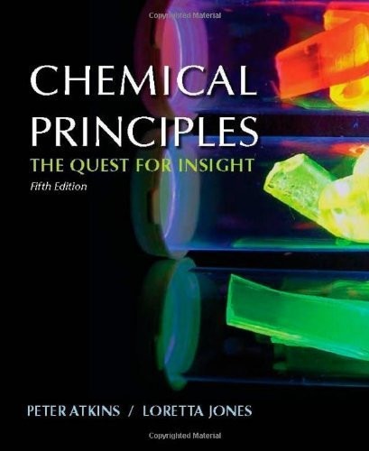Chemical Principles: The Quest for Insight by Peter Atkins (2007-08-01)